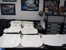 1997 30th Anniversary Camaro SS Z28 Seat Covers in White with White inser NEW