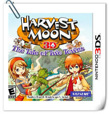 3DS Nintendo HARVEST MOON: THE TALE OF TWO TOWNS Natsume Strategy