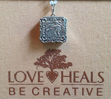 Love Heals Be Creative Angelic Locket Charm w/plain ring NEW retails $59.00