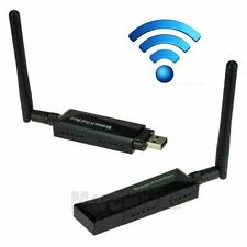 Dual Band 2.4/5Ghz WiFi Wireless N USB Adapter Dongle 802.11a/b/g/n W/ Antenna