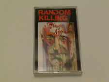 RANDOM KILLING ~ THOUGHTS OF AGGRESSION ~ 74242 1014-4 ~ RARE 1994 CASSETTE TAPE