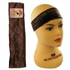 Milano Collection WIGRIP Extra Hold Wig Comfort Band Reduces Headaches - Brown