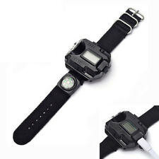 Bracelets Rechargeable LED Wrist Watch with Compass Flashlight Hand Torch Lamp