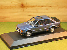 Vanguards VA11010 Ford Escort MK3 XR3 in Caspian Blue no 8 of 1000 1/43rd scale