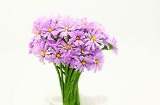 New 10pcs Wild Chrysanthemum Artificial Flower Bouquets Decoration purple