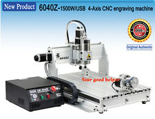 US NEW 4 axis 6040 1500W USB MACH3 CNC ROUTER ENGRAVER/ENGRAVING  110/220VAC
