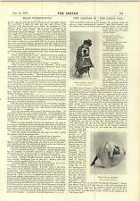 1897 Peerage Made Mr Hesilrige Debretts Interview Stage Superstitions Edith Dent