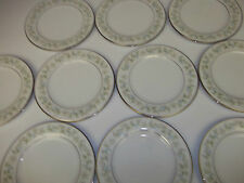 "10 Noritake dessert plates ""Savannah  #2031"" Japanese porcelain china dinnerware"