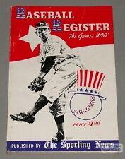 Rare 1941 Sporting News Baseball Register Guide