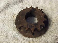 BSA OTHERS VINTAGE VETERAN 14 TOOTH ENGINE DRIVE SPROCKET. 16