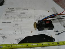 Adjustable Radiator fan control module with temp sensor with Instructions.
