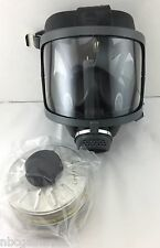 40mm NATO Domestic Preparedness Gas Mask w/ NBC Filter Exp 1/2020 & Case New/NIB