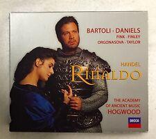 Rinaldo by Handel Complete Opera 3 CD Set Cecilia Bartoli