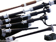 African Blackwood Scottish Great Highland Bagpipes (For Professional Musicians)