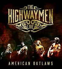 The Highwaymen-Live-American Outlaws (3-cd/blu-ray) 4 CD NUOVO