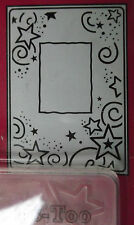 Stars Frame - Crafts Too A6 Embossing Folder CTFD3031