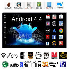"Quad Core Android 4.4 3G WIFI 7"" Double 2DIN Car Radio Stereo MP5 Player GPS Nav"