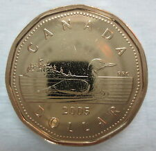 2005 CANADA LOONIE PROOF-LIKE ONE DOLLAR COIN