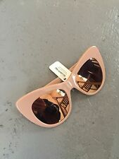 Stella McCartney Cat Eye Rose Pink Mirror Sunglasses BNWT