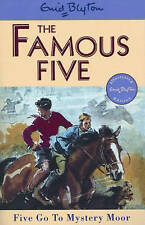 NEW (13)  FIVE GO TO MYSTERY MOOR  ( FAMOUS FIVE book ) Enid Blyton