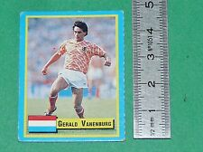 VANENBURG NEDERLAND PSV EINDHOVEN FOOTBALL 1989-1990 VALLARDI MINI CARD PANINI