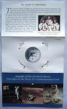 First Men on the Moon $5 Commemorative Coin 1989 Marshall Islands