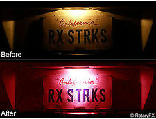 License Plate LED Bulbs RED Fits Ford Mustang