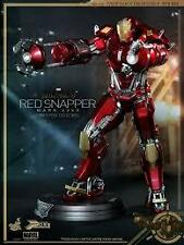 Hot Toys Iron Man 3 Power Pose Series PPS002 Mark XXXV 35 Red Snapper MISB