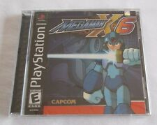 Mega Man X6 (Sony PlayStation 1, 2001) New, factory sealed! Black label.
