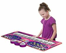 Ginzick Music Piano Electronic Keyboard Playmat with Microphone and Stand kids