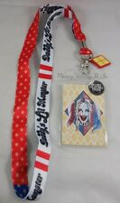 DC Comics Suicide Squad Harley Quinn Daddy's Lil Monster Lanyard ID Card Holder