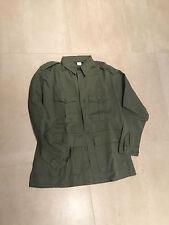 bush jacket, new old stock, usa made, olive, 100% cotton ,xl