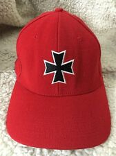 No Fear Cross Red Baseball Cap Hat S/M