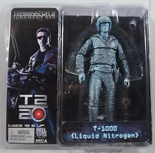 "T-1000 Liquid Nitrogen Terminator 2 Judgment Day Movie 7"" Figure Neca"