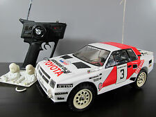 Vintage Rare Tamiya 1/12 R/C Toyota Celica GR.B Rally with Futaba remote+ light