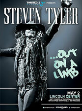 STEVEN TYLER OUT ON A LIMB LINCOLN CENTER NEW YORK TOUR POSTER 2016 AEROSMITH