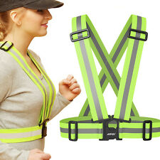 Reflective Vest Harness High Visibility Running Walking or Cycling Safety