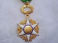 trés belle médaille d'officier du mérite agricole 1883 en vermeil