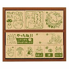 Beverly Stamp My Neighbor Totoro Wooden Reward Stamp 2 Sg-128 From Japan