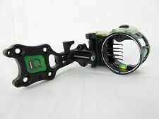 IQ Micro Compound Bow sight Retina Lock 5 pin Black Left Hand #322