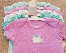 NEW! 3 MONTH CARTER'S POLKA DOT FLORAL ELEPHANT 5PC BODYSUITS SET ADORABLE!