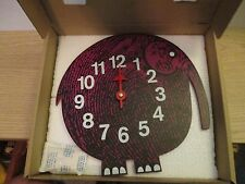 ELIHU ELEPHANT CLOCK George Nelson VERICHRON MCM Midcentury Modern new in box