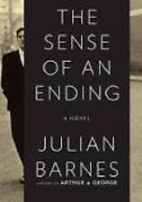 Julian Barnes~THE SENSE OF AN ENDING~SIGNED 1ST(2ND)/DJ~NICE COPY