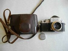 USSR Russian vintage camera ZENIT-1 with Industar-22 M39