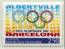 FRANCE TIMBRE NEUF  N°  2760  **  ANNEAUX OLYMPIQUES JO 92 BARCELONE ALBERVILLE