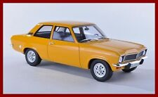 OPEL Ascona A Limousine 2 Türer 1973 dark yellow gelb orange BoS Resin SP 1:18