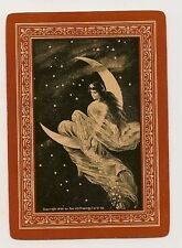 Swap Playing Cards 1 single Antique Wide Moon Fairy