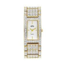 Elite Gold Ladies Dress Watch