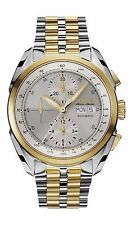 Bulova Accutron Men's 65C117 Accu Swiss Chronograph  Automatic Two Tone Watch