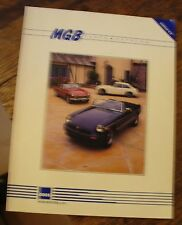 MGB Parts Catalog 1992 Edition 4.0 MOSS MOTORS Free US Shipping AUTOMOTIVE Look!